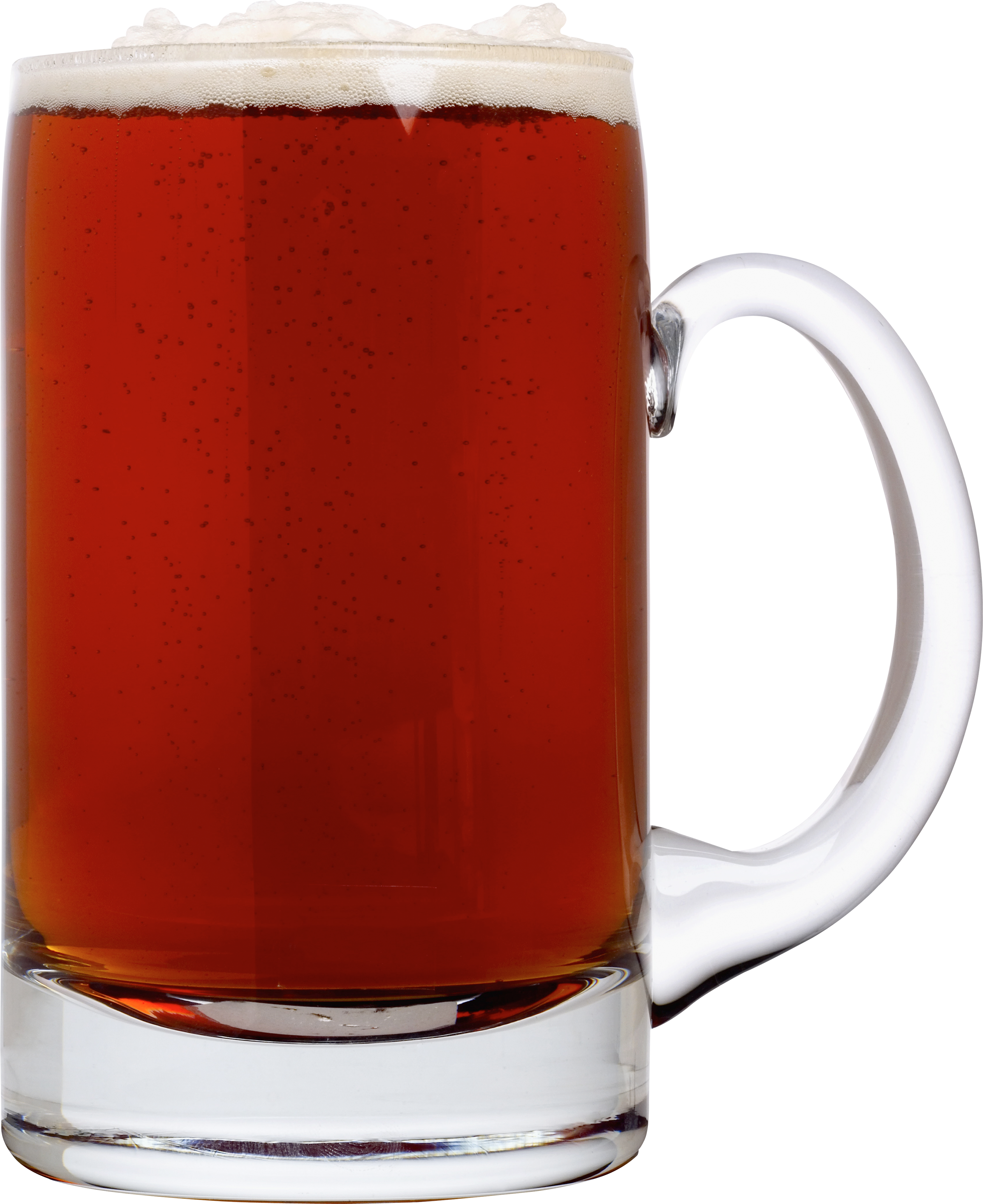Dark Beer in Glass PNG Image