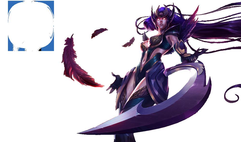 Dark Valkyria Diana Skin PNG Image