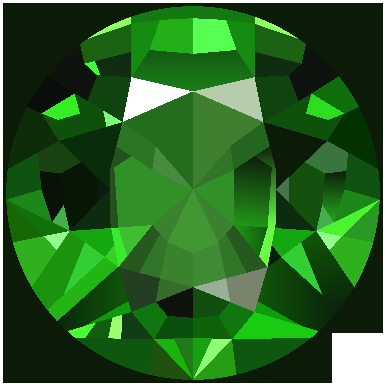 Diamond Emerald Gem