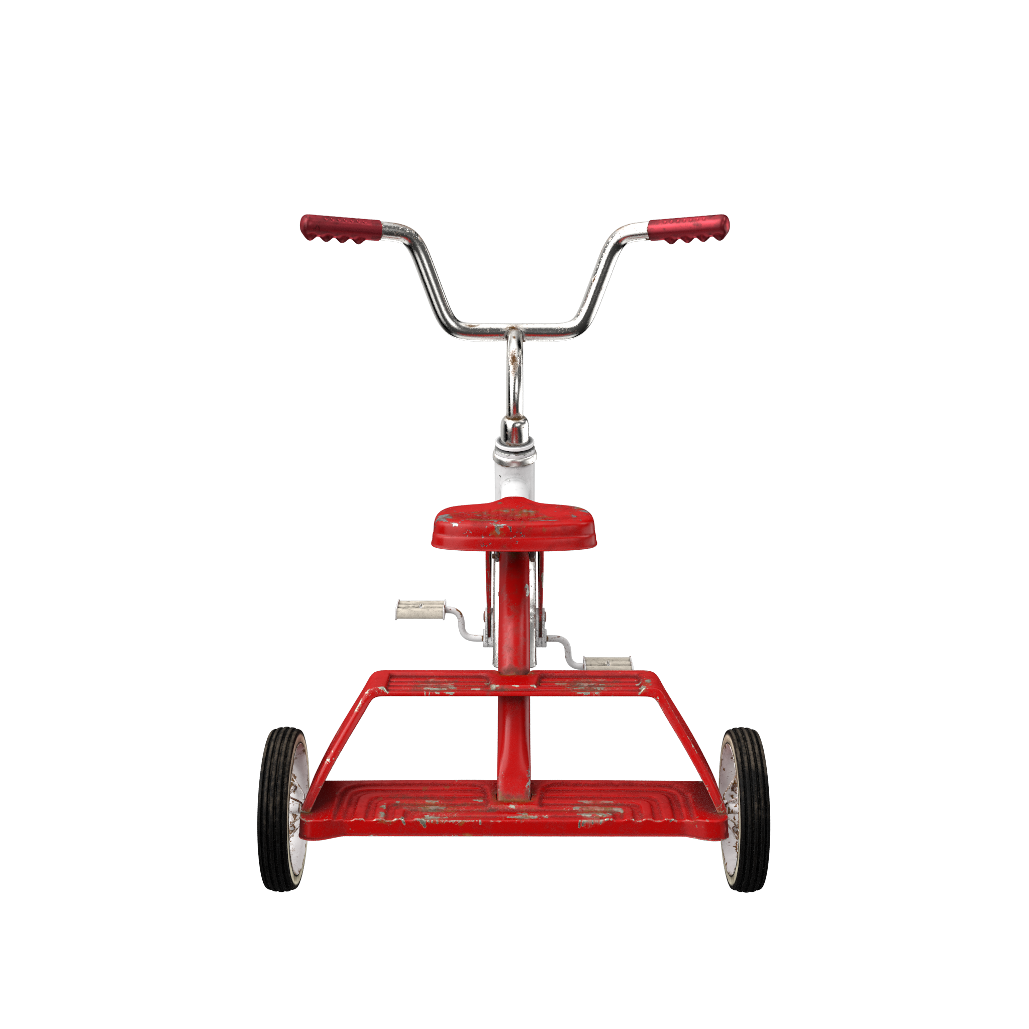 Dirty Vintage Tricycle Png Image For Free Download