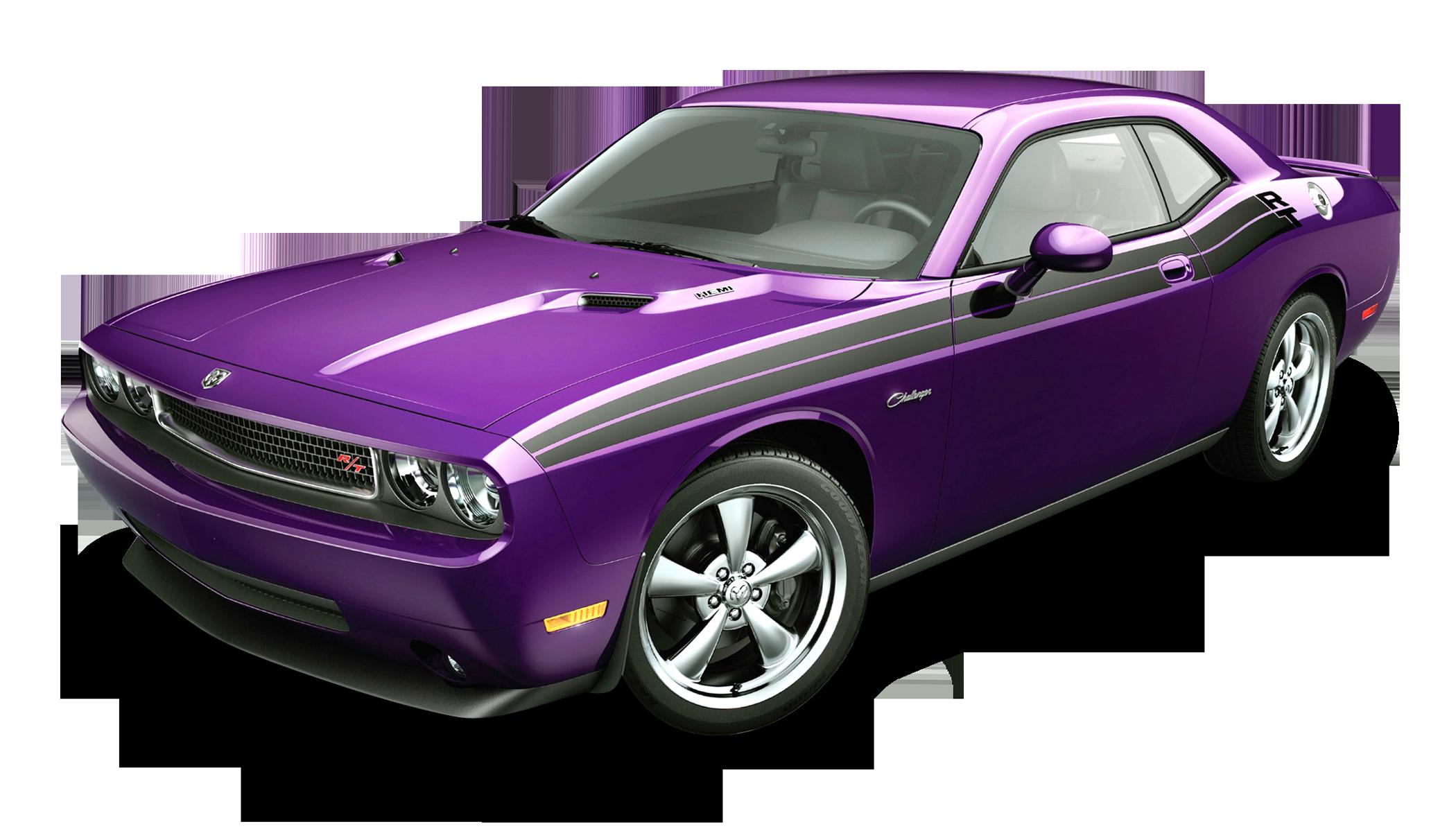 Dodge Challenger Violet Car