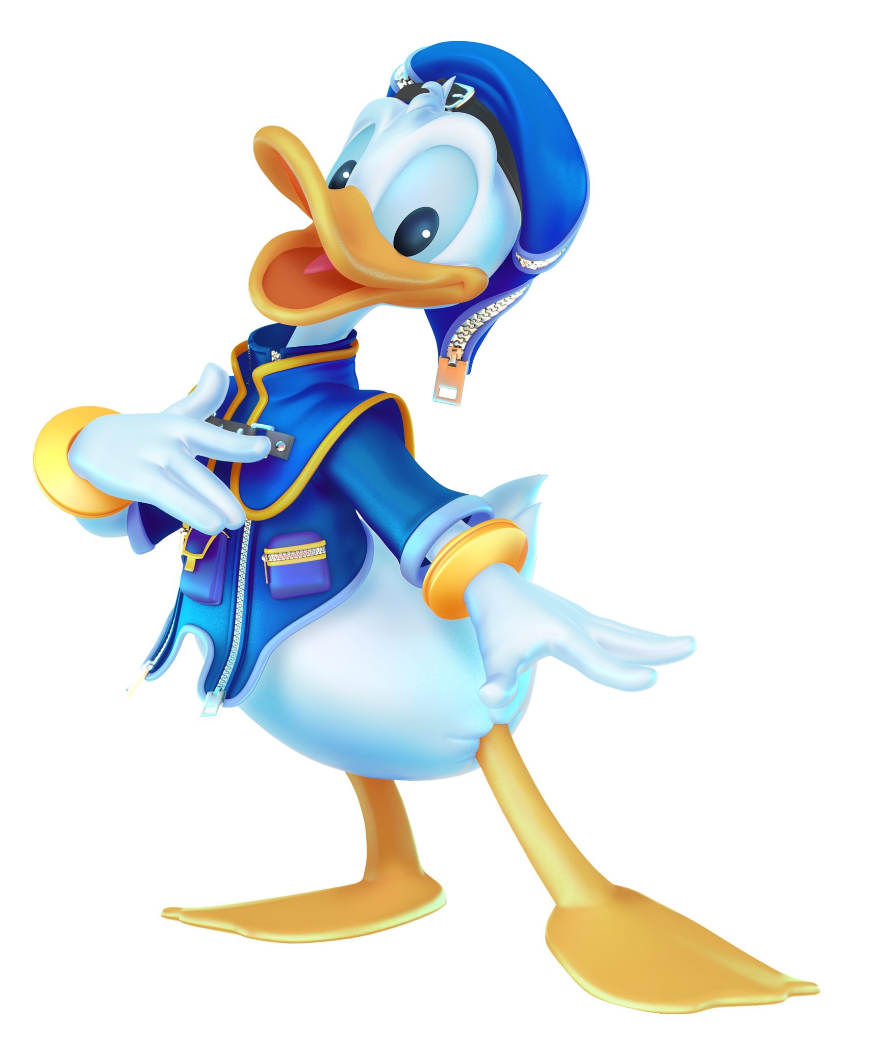 Donald Duck  Happy