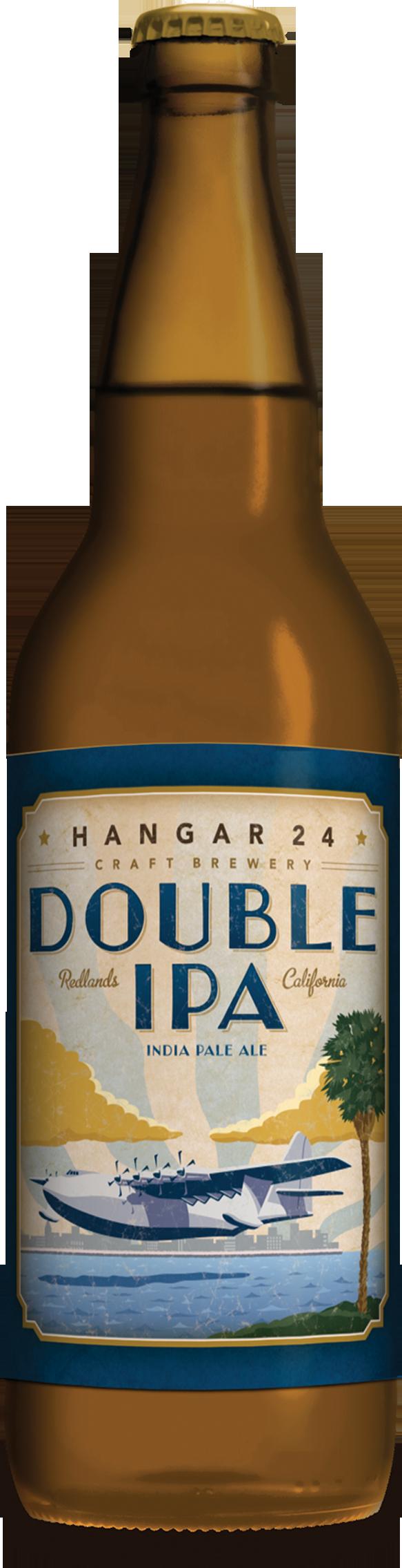 Double Ipa Bottle PNG Image
