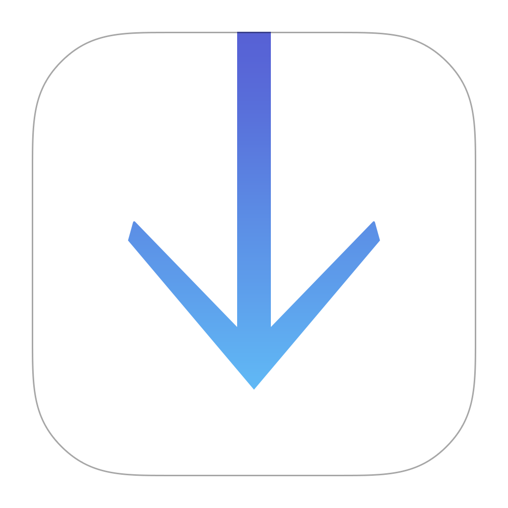 Download Downloads Icon PNG Image for Free
