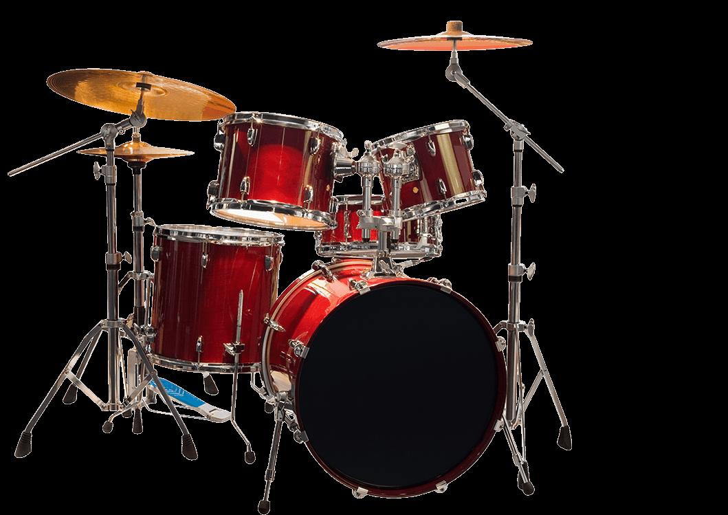 Drums Kit PNG Image