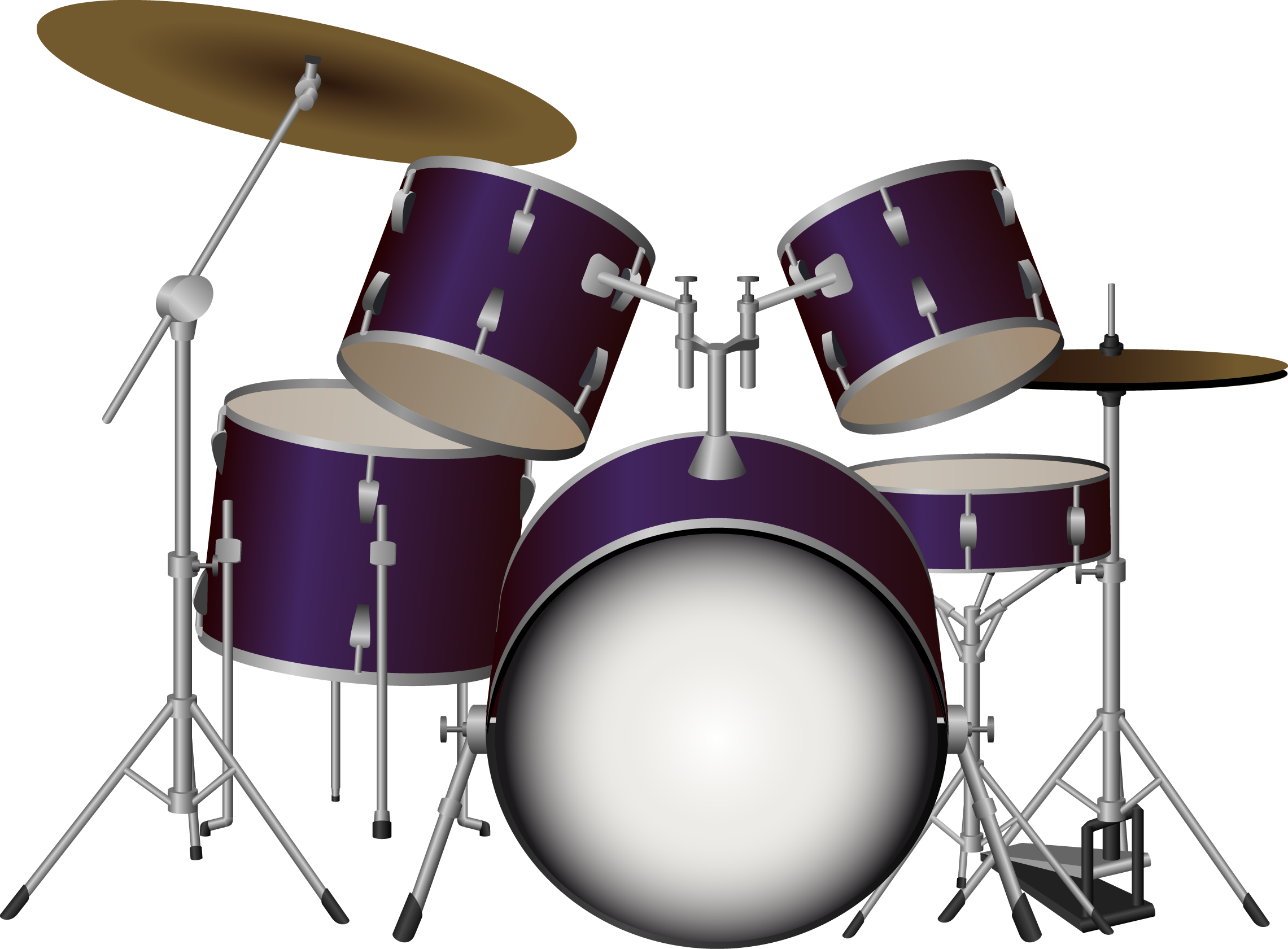 Drums Kit PNG Image