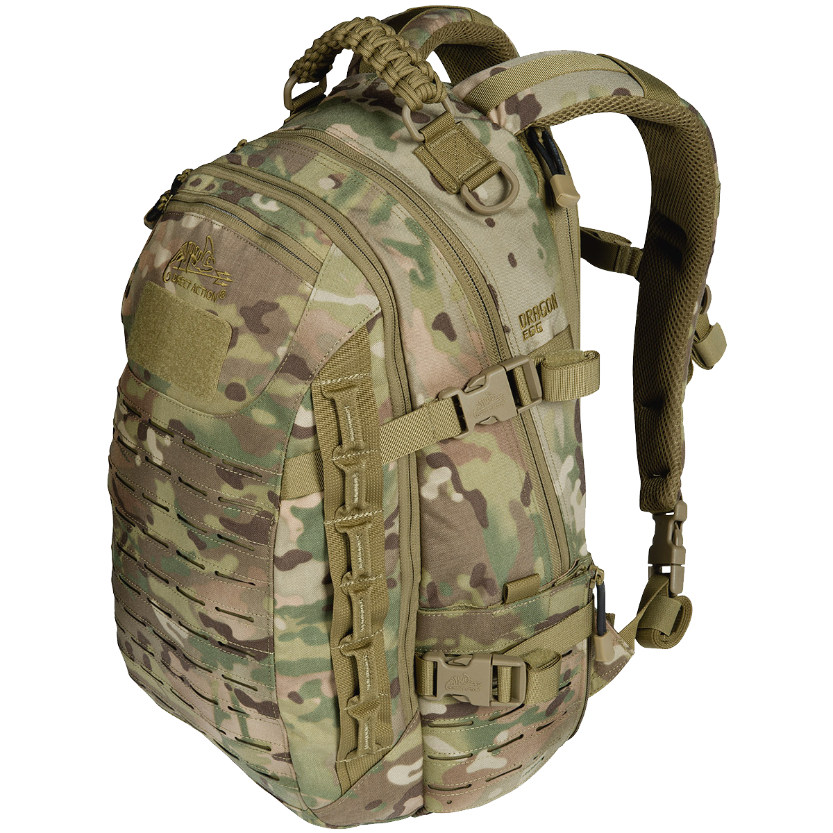 Dutch Camouflage Assault Pack PNG Image