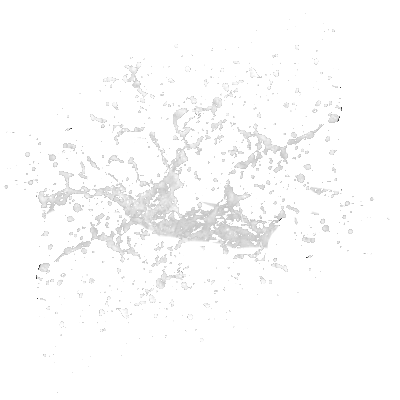 Dynamic splash water drops PNG Image