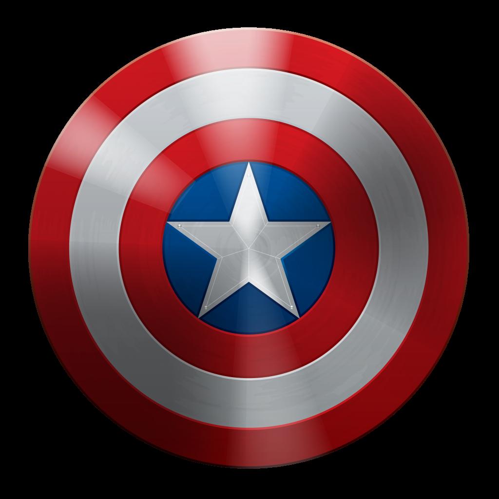 Ecellent Captin America Shield PNG Image