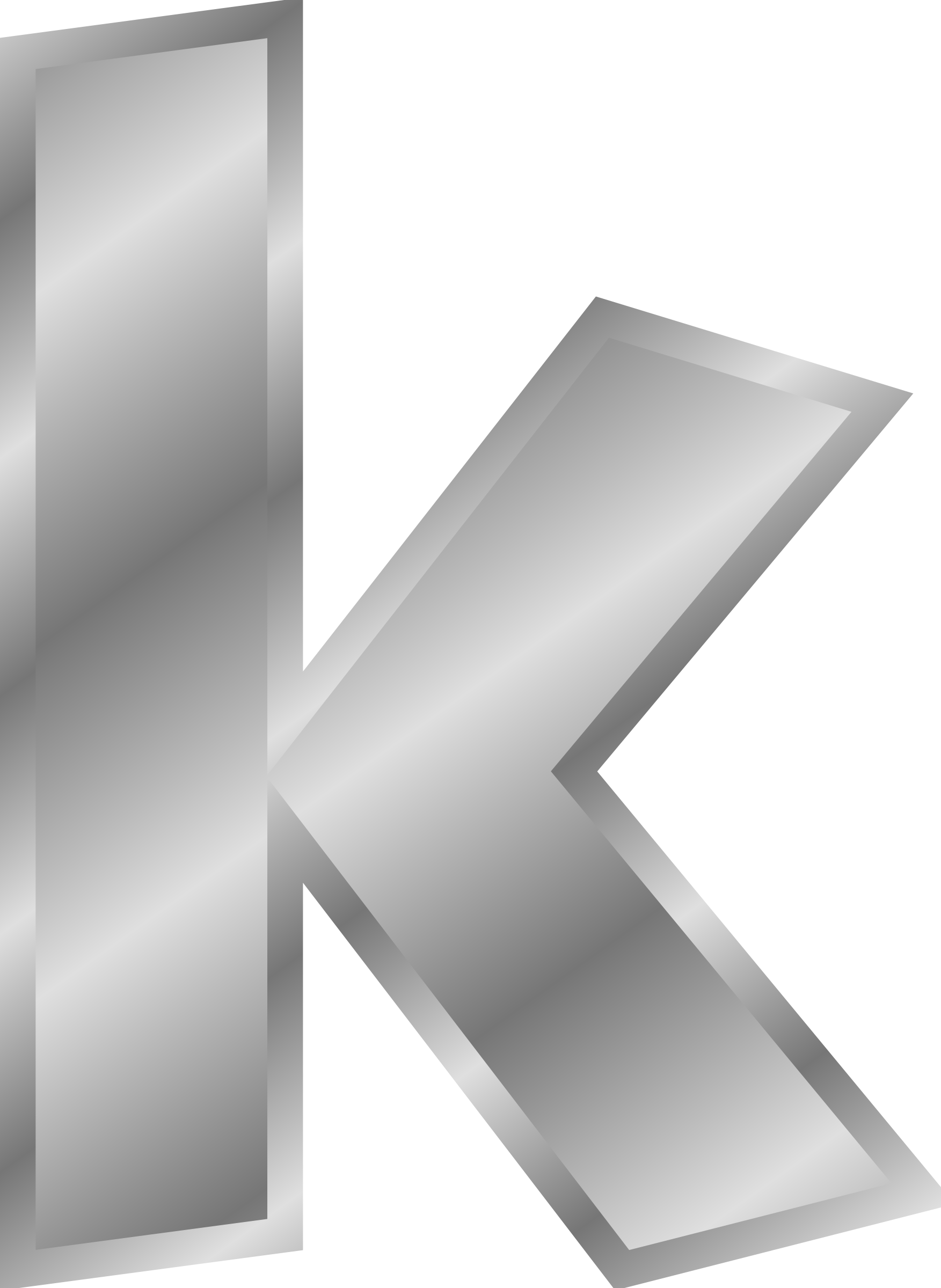 Effect Letter K PNG Image