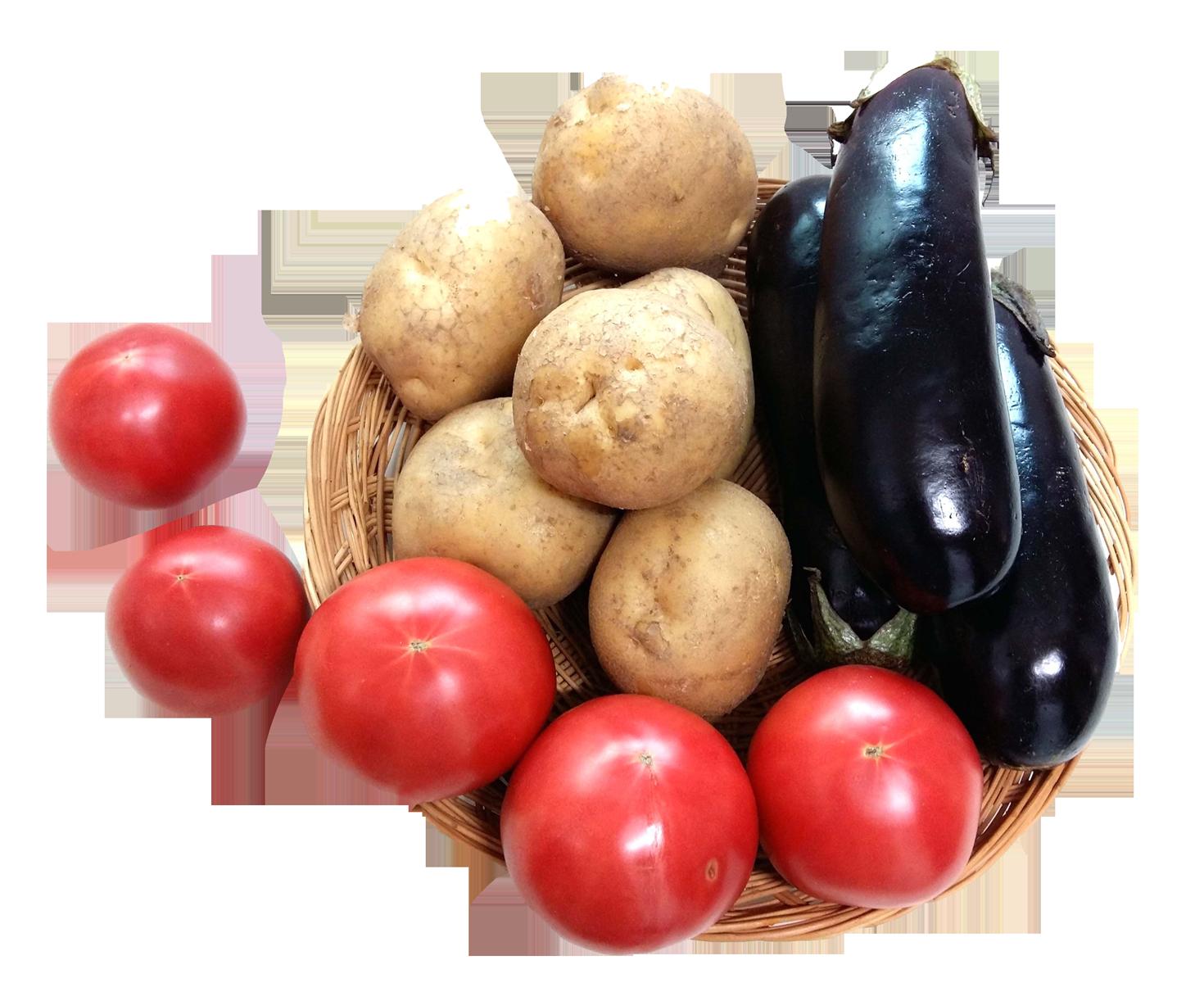 Eggplant Tomato Potato