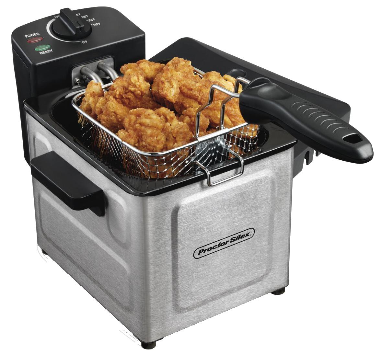 Electric Deep Fryer PNG Image