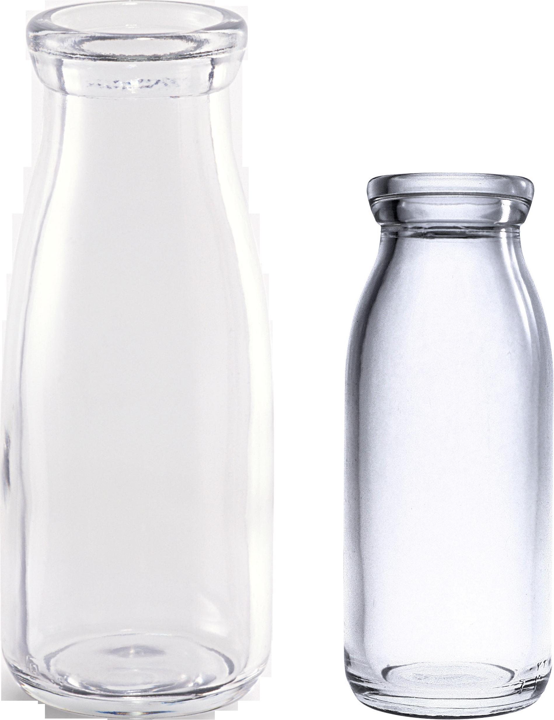 Empty Bottle PNG Image