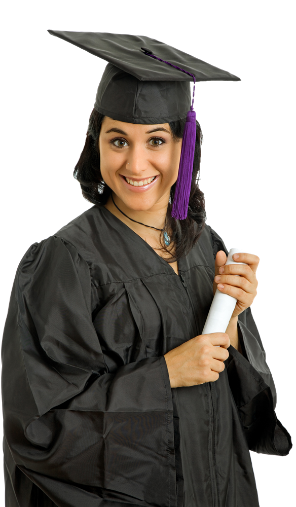 Female Student PNG Image