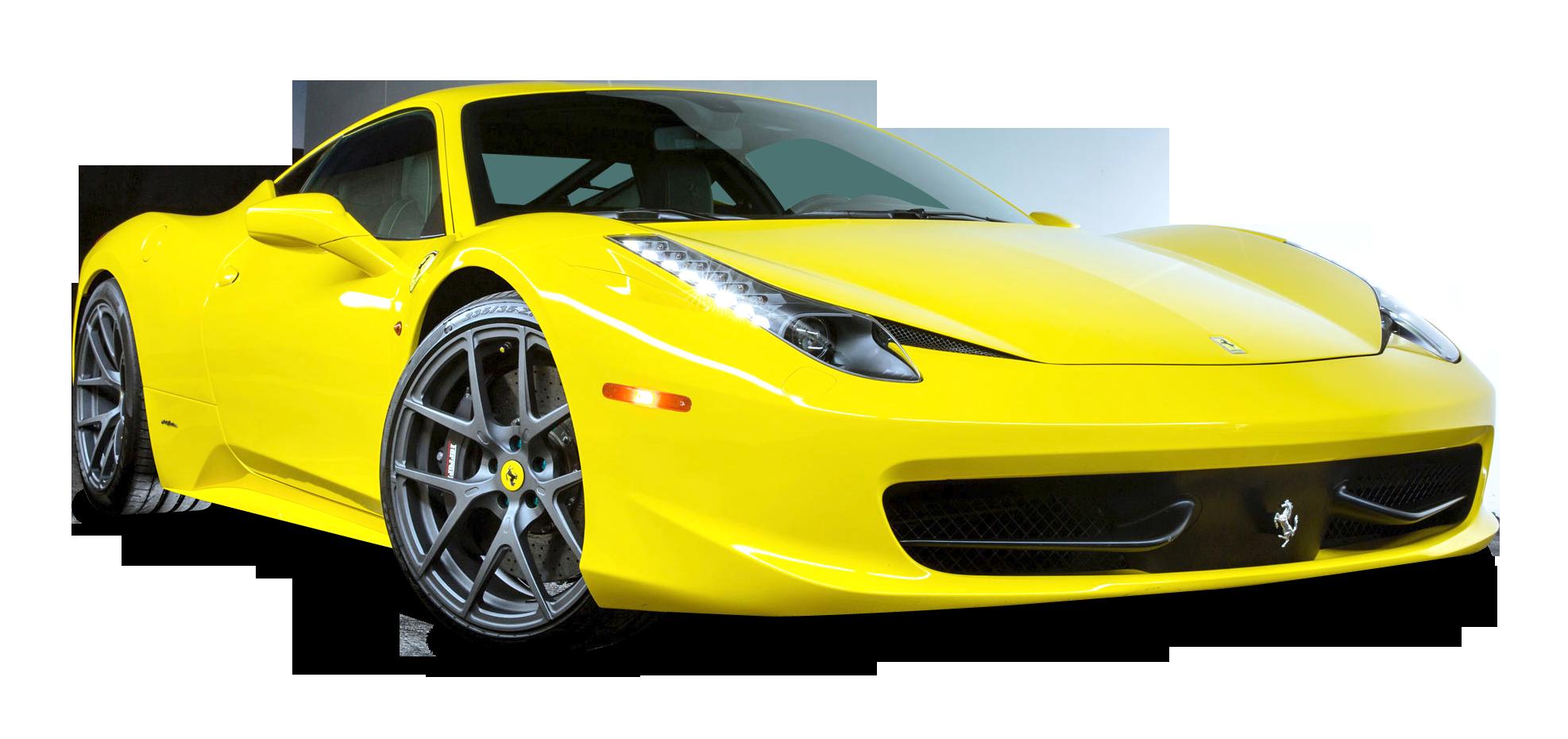 Ferrari 458 Italia Car PNG Image