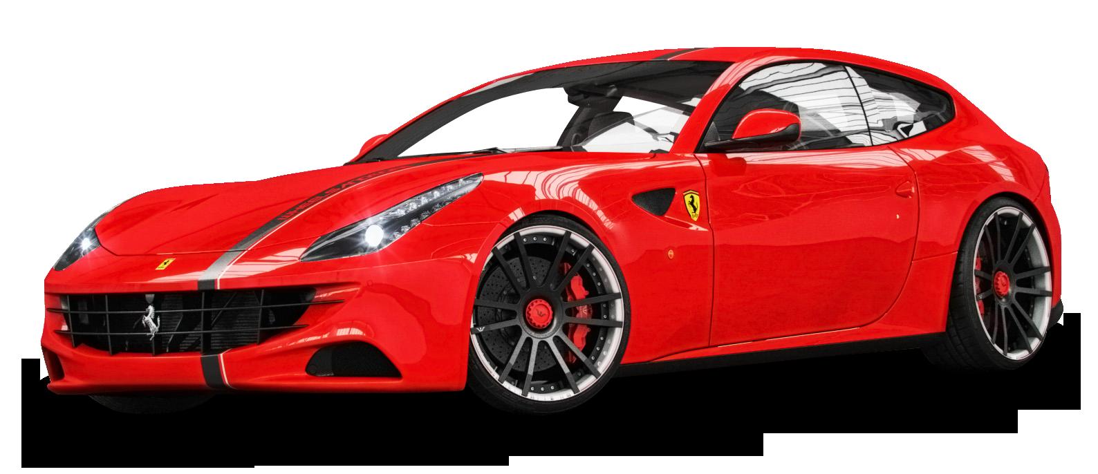 Ferrari Red Car