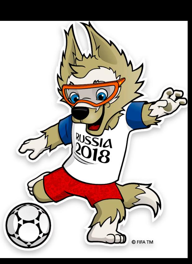 Fifa Mascot 2018 WM PNG Image