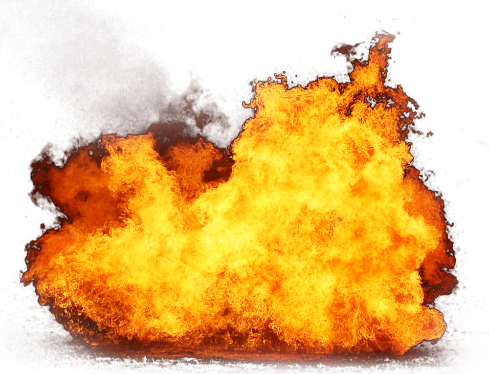 Flaming Burning Fire PNG Image