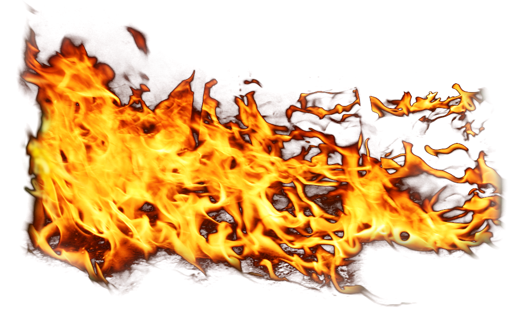Side Fire Flame PNG Image