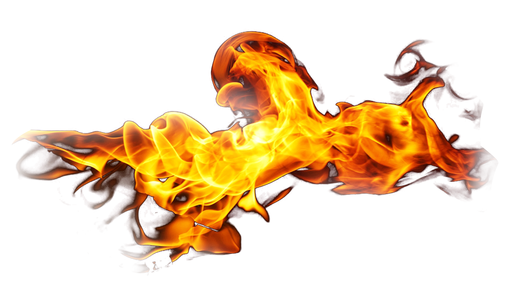 Flaming Fire Burning PNG Image