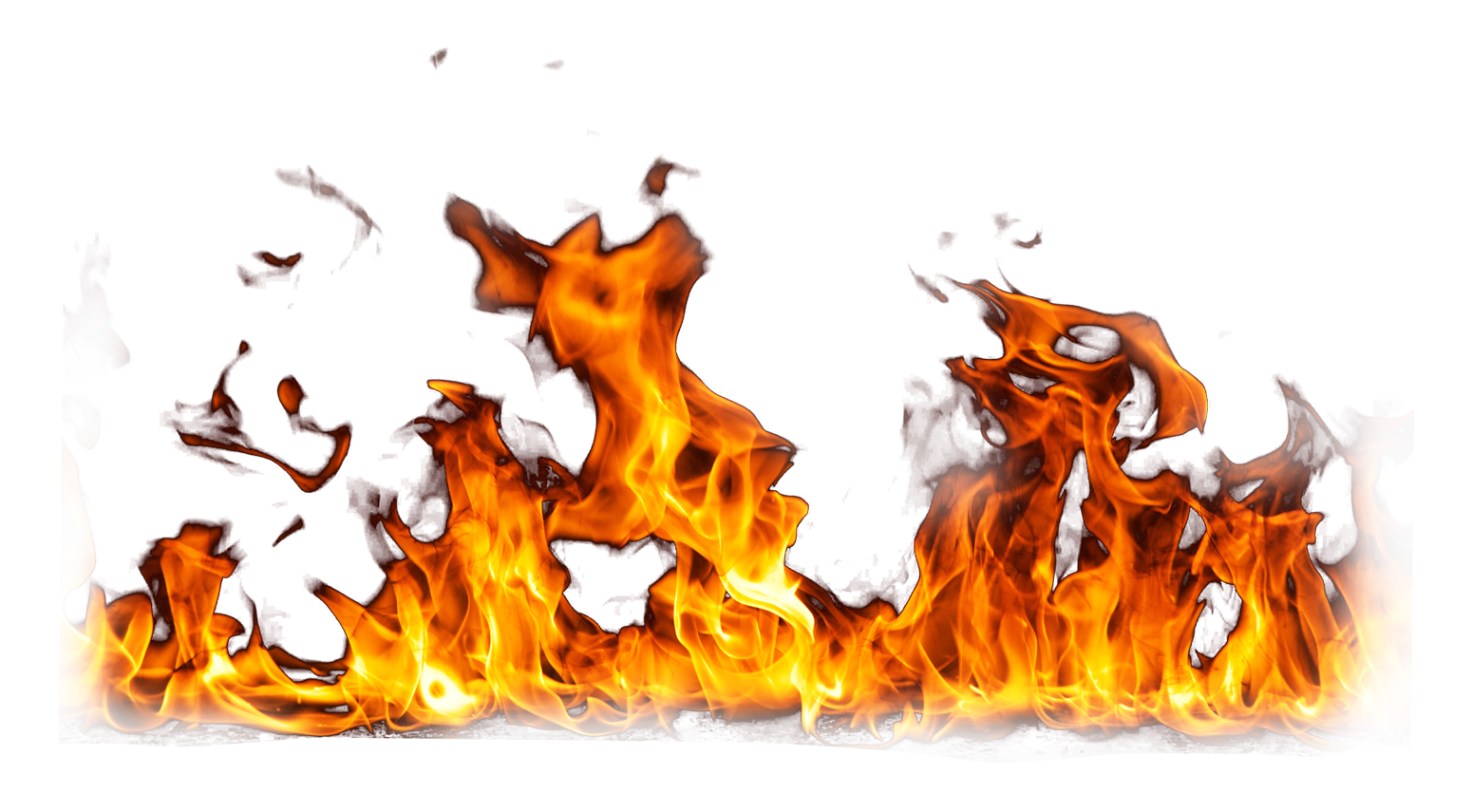 Fire Flame Burning Ground PNG Image