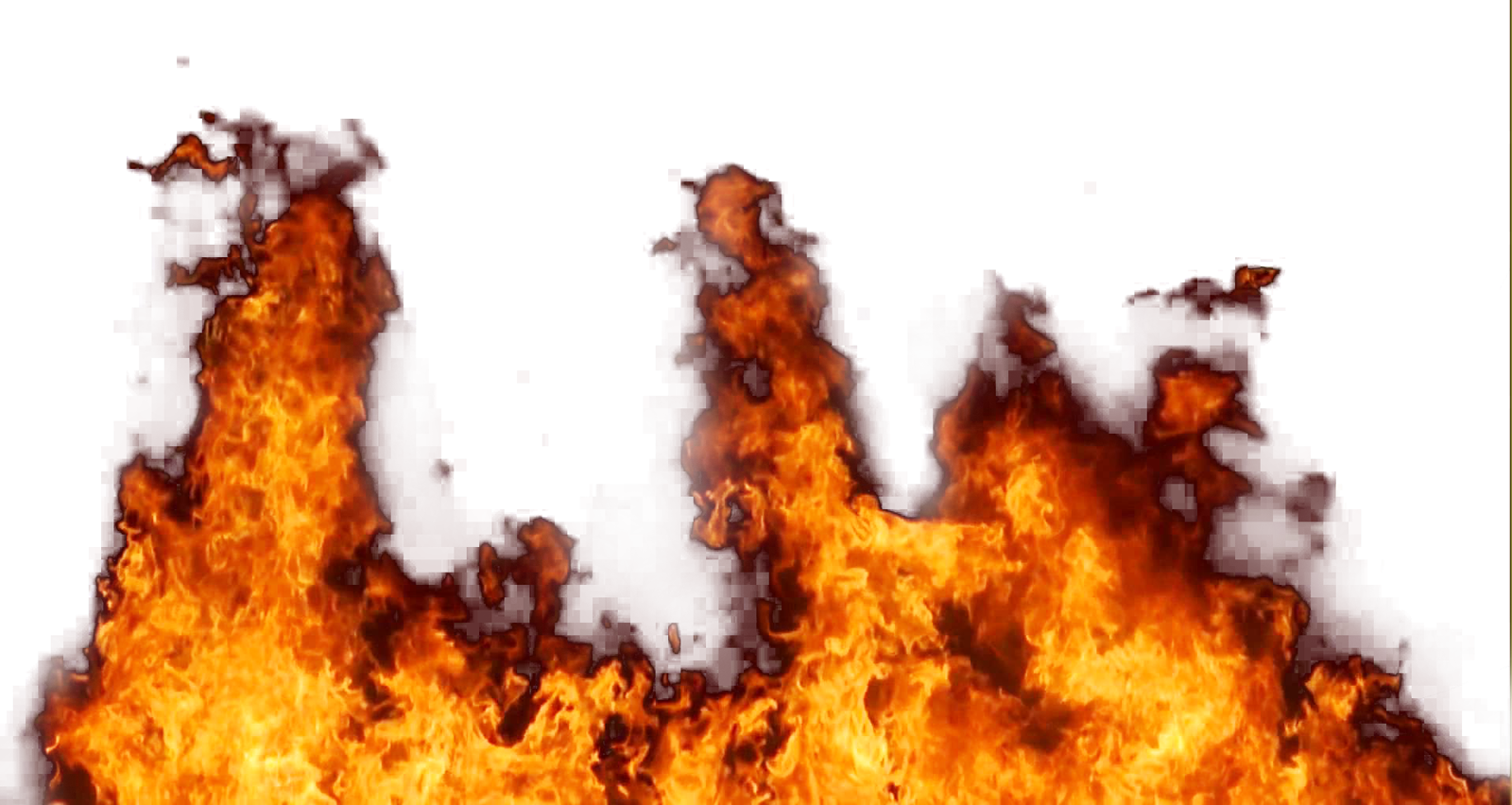 Fire Flaming Ground PNG Image