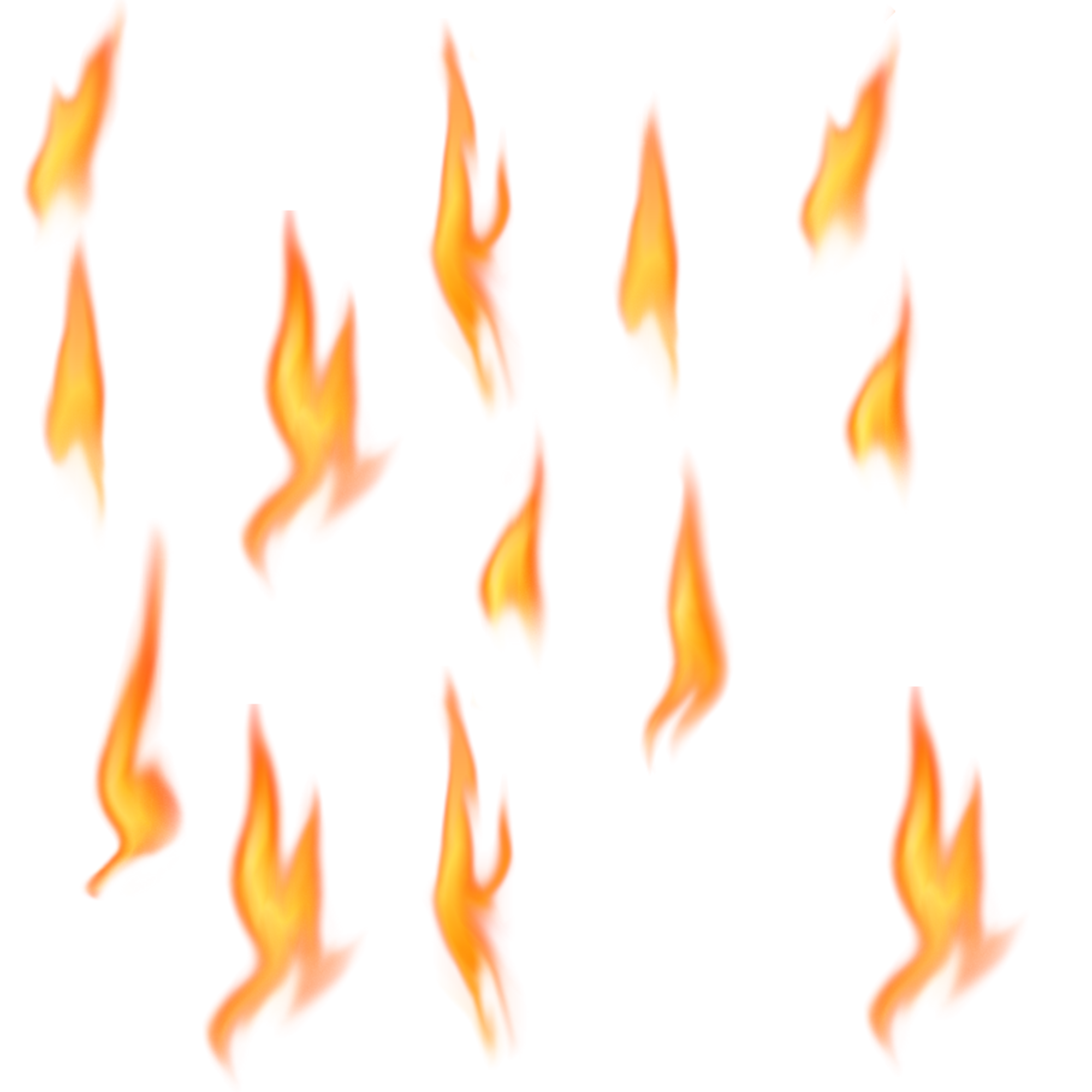 Flame Collection PNG Image