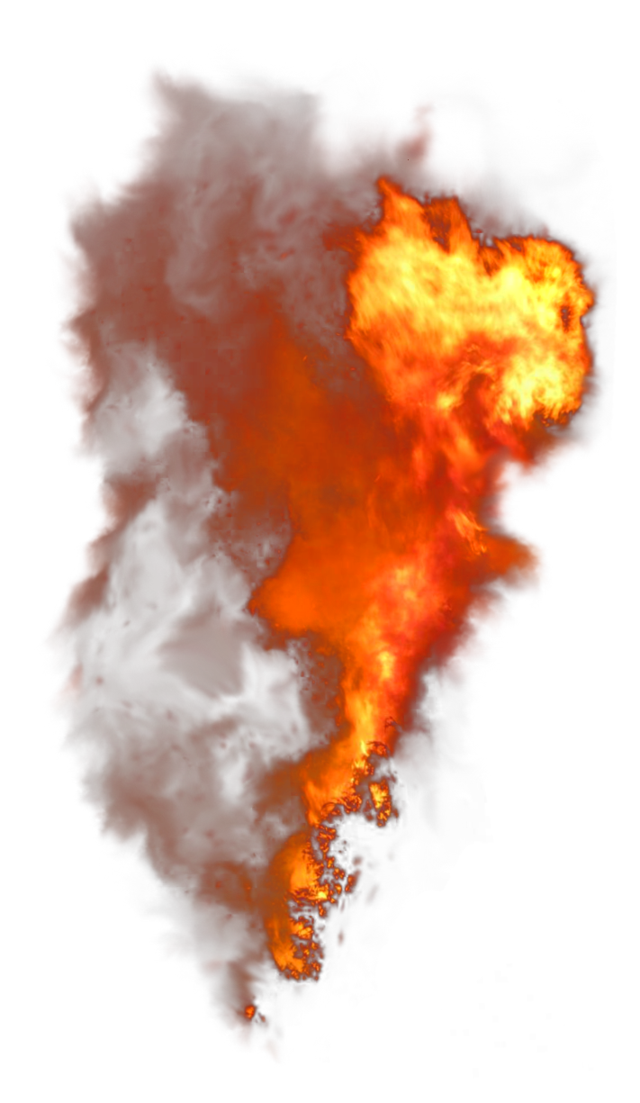 Large Explosion PNG Image