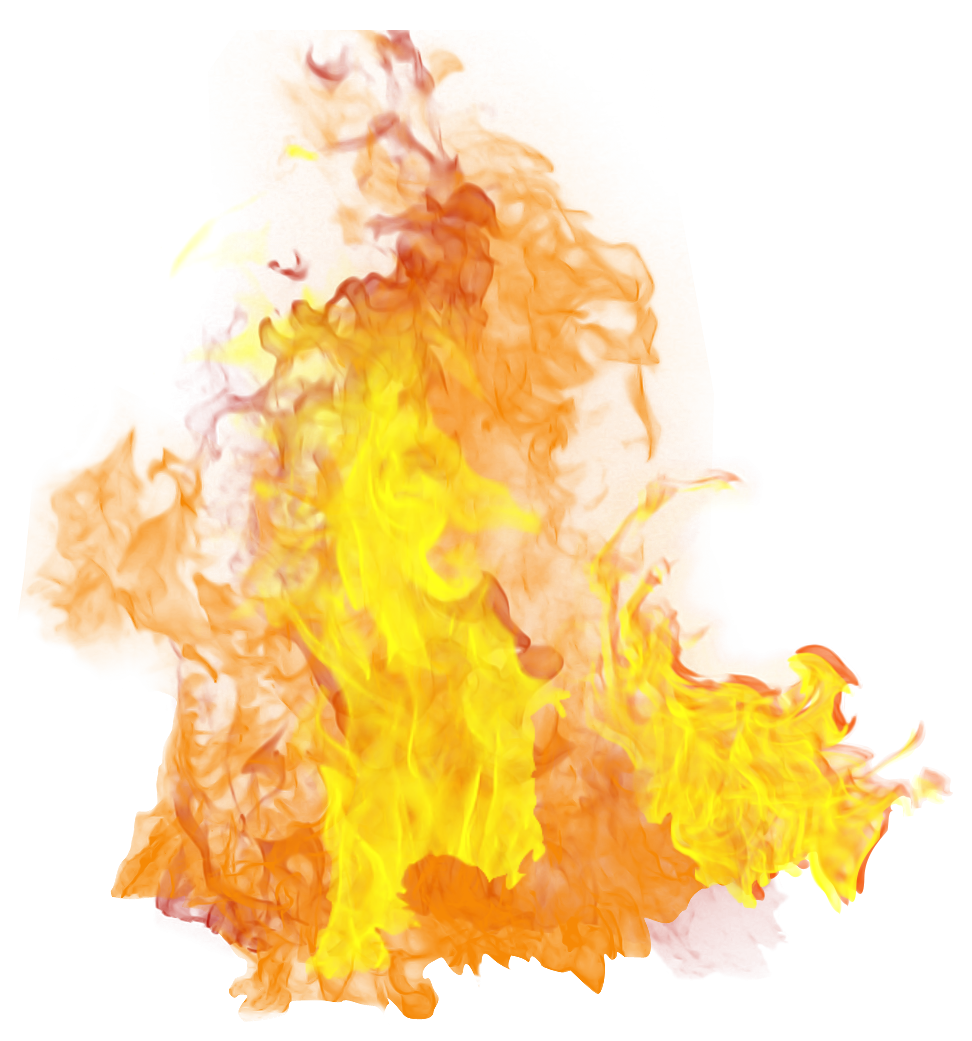 Fire Flame Big PNG Image