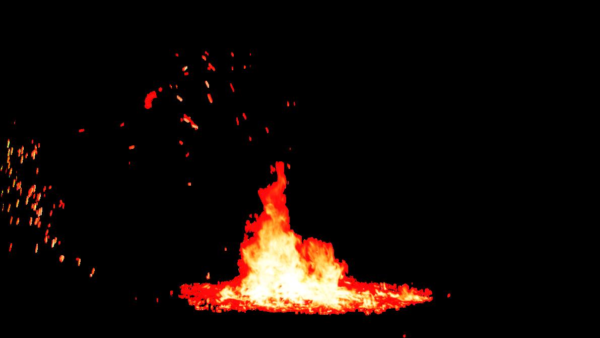 Bonfire Flame PNG Image