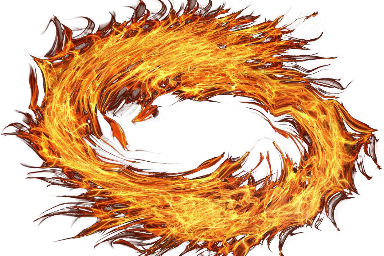 Fire Circle PNG Image