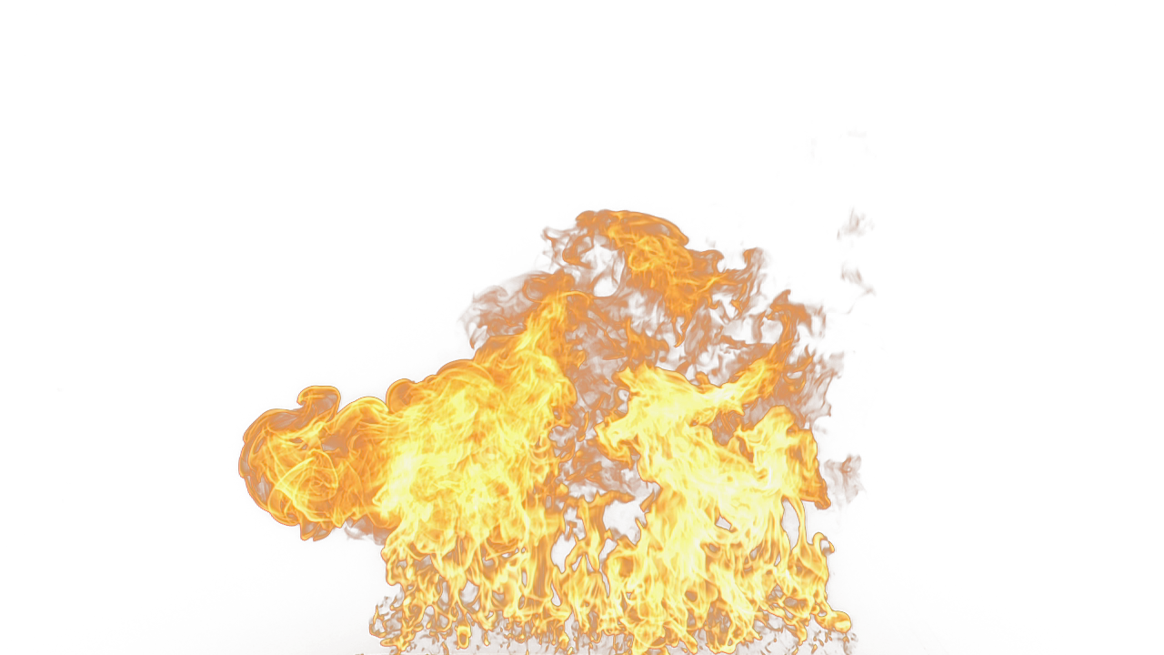 Flaming Hot Fire PNG Image