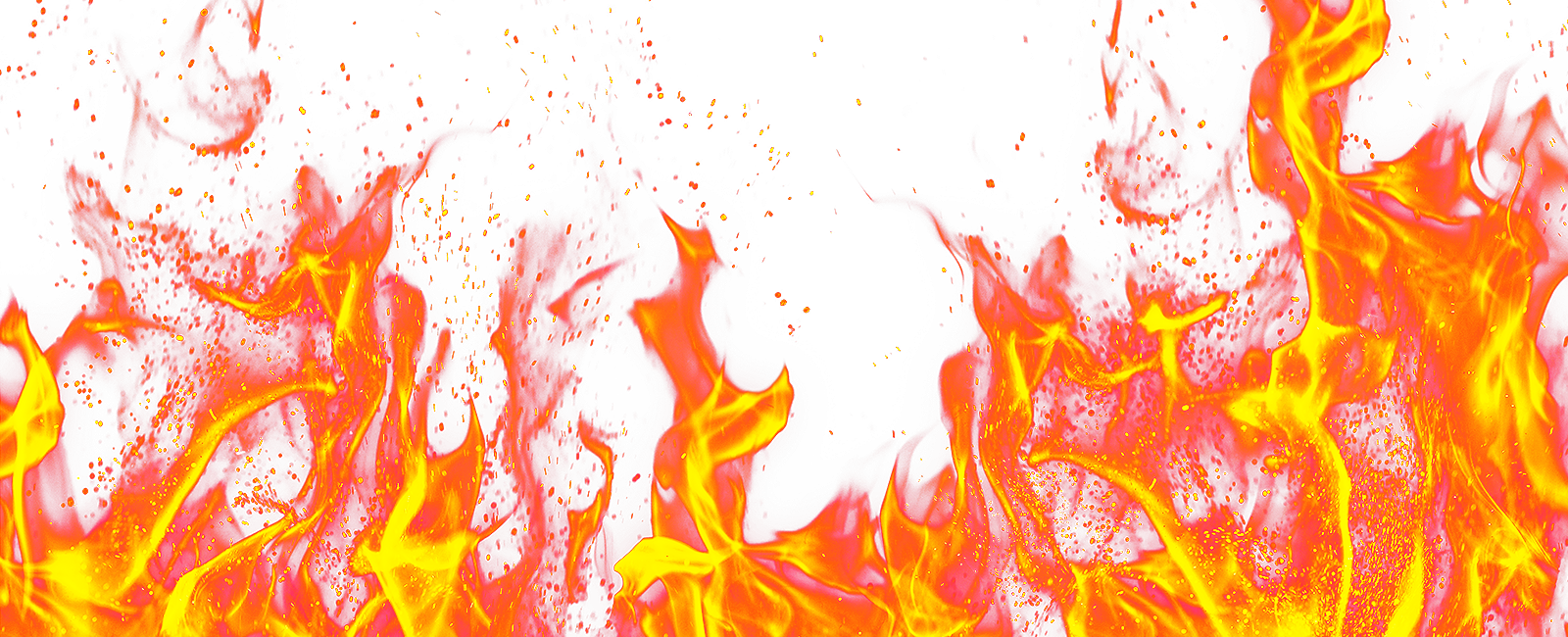 Hot Flame Fire Ground PNG Image