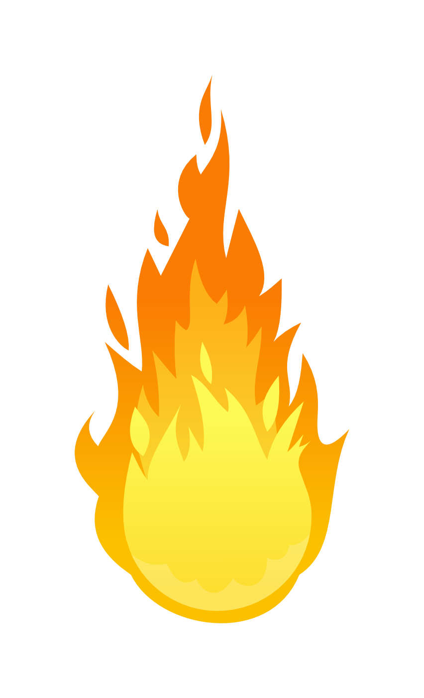 Flaming Fire Flame PNG Image