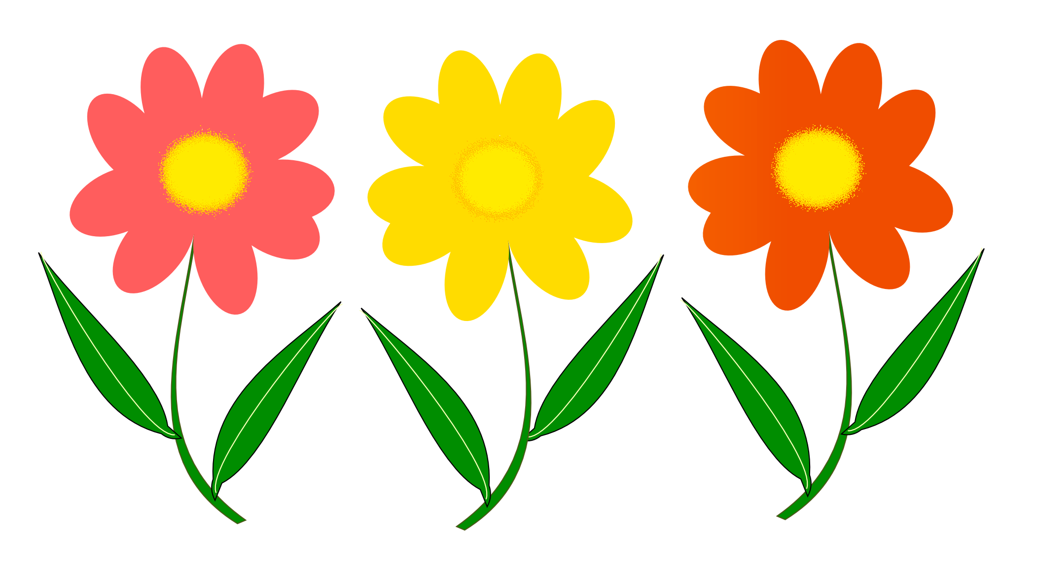 Flower Vector PNG Image - PurePNG