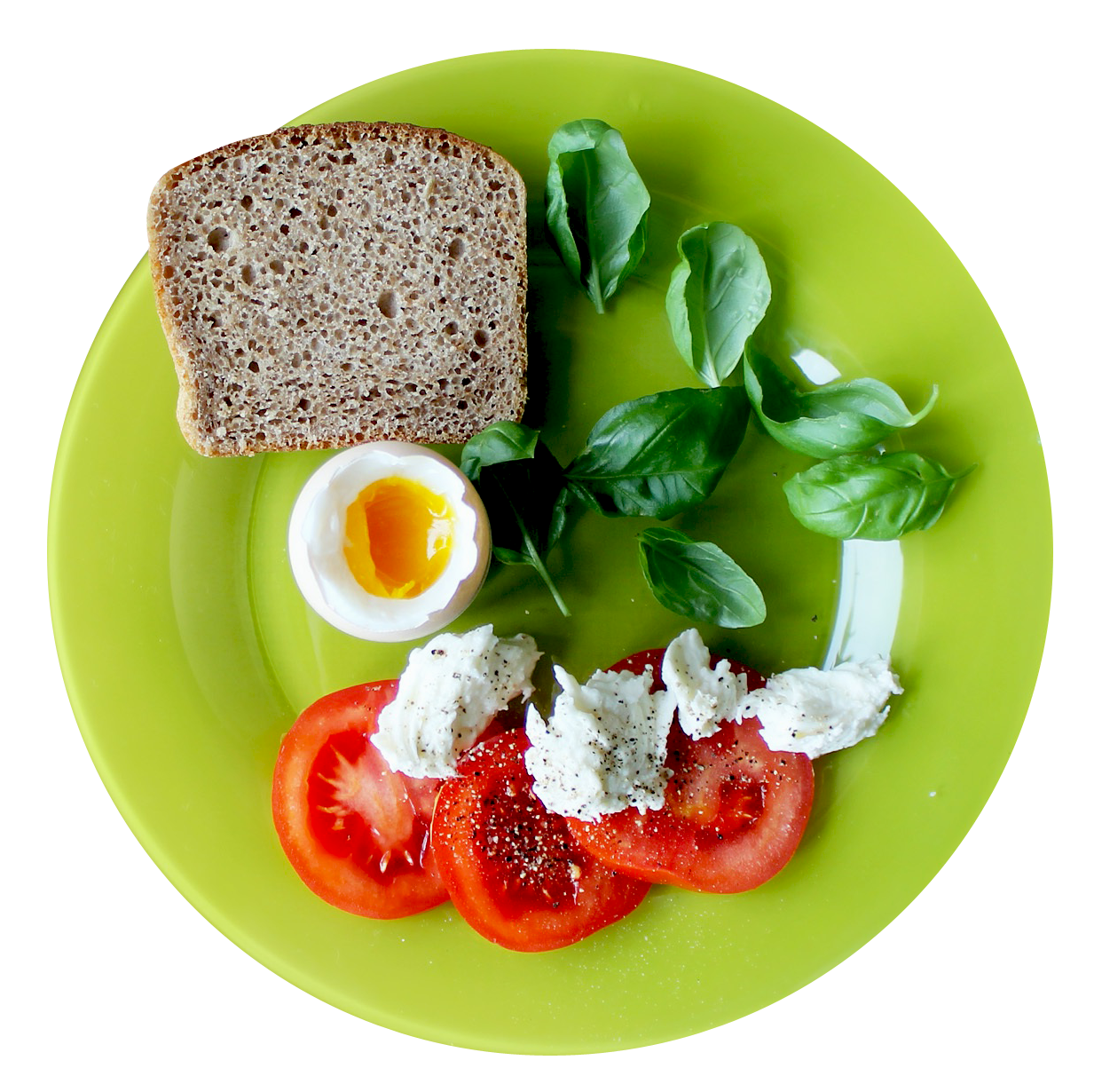 Food Plate Top View PNG Image - PurePNG | Free transparent ...