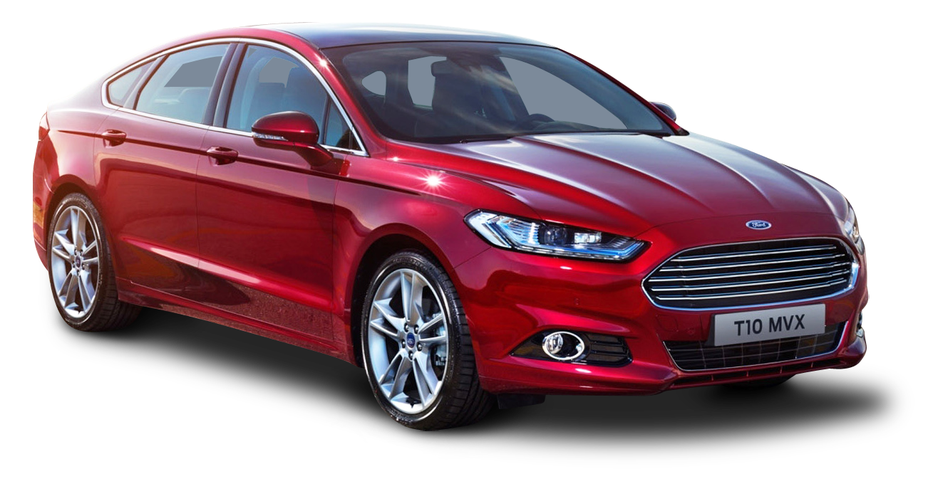 Ford Mondeo Red Car
