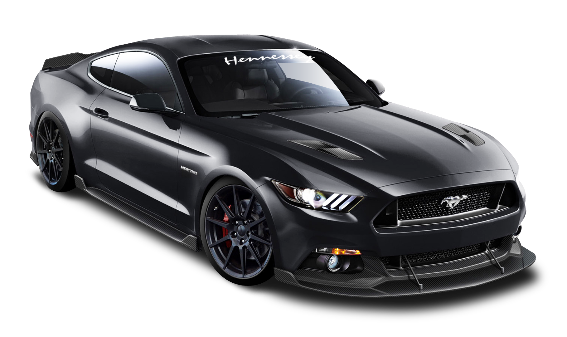 Ford Mustang Hennessey Black Car Png Image Purepng Free