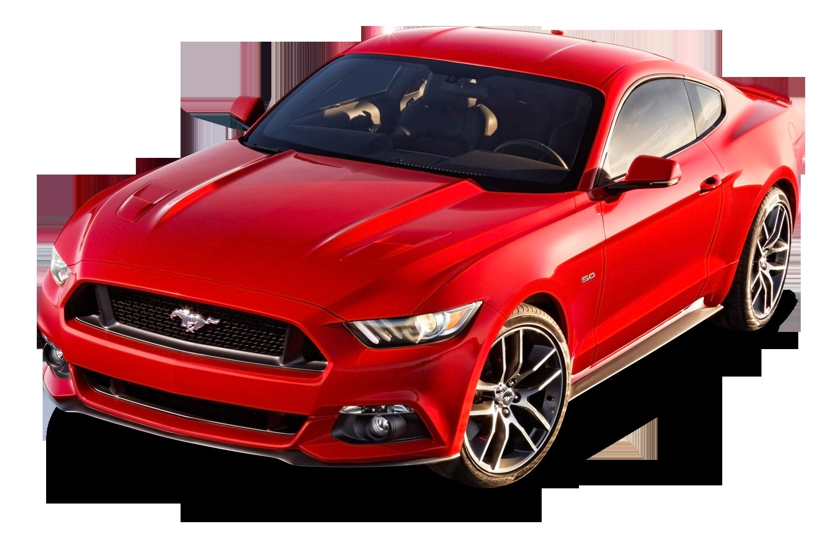 Transparentes Ford Mustang Red Car Png Bild Kostenlos