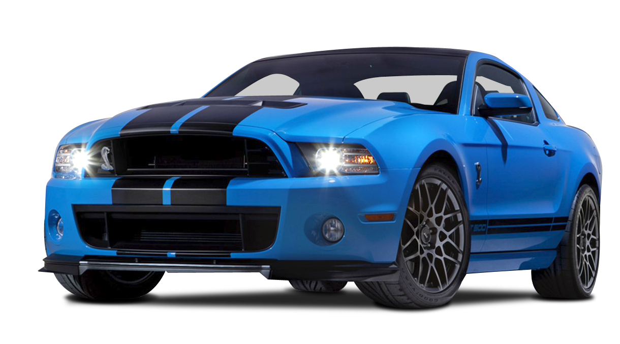 Ford Mustang Shelby GT500 Car PNG Image