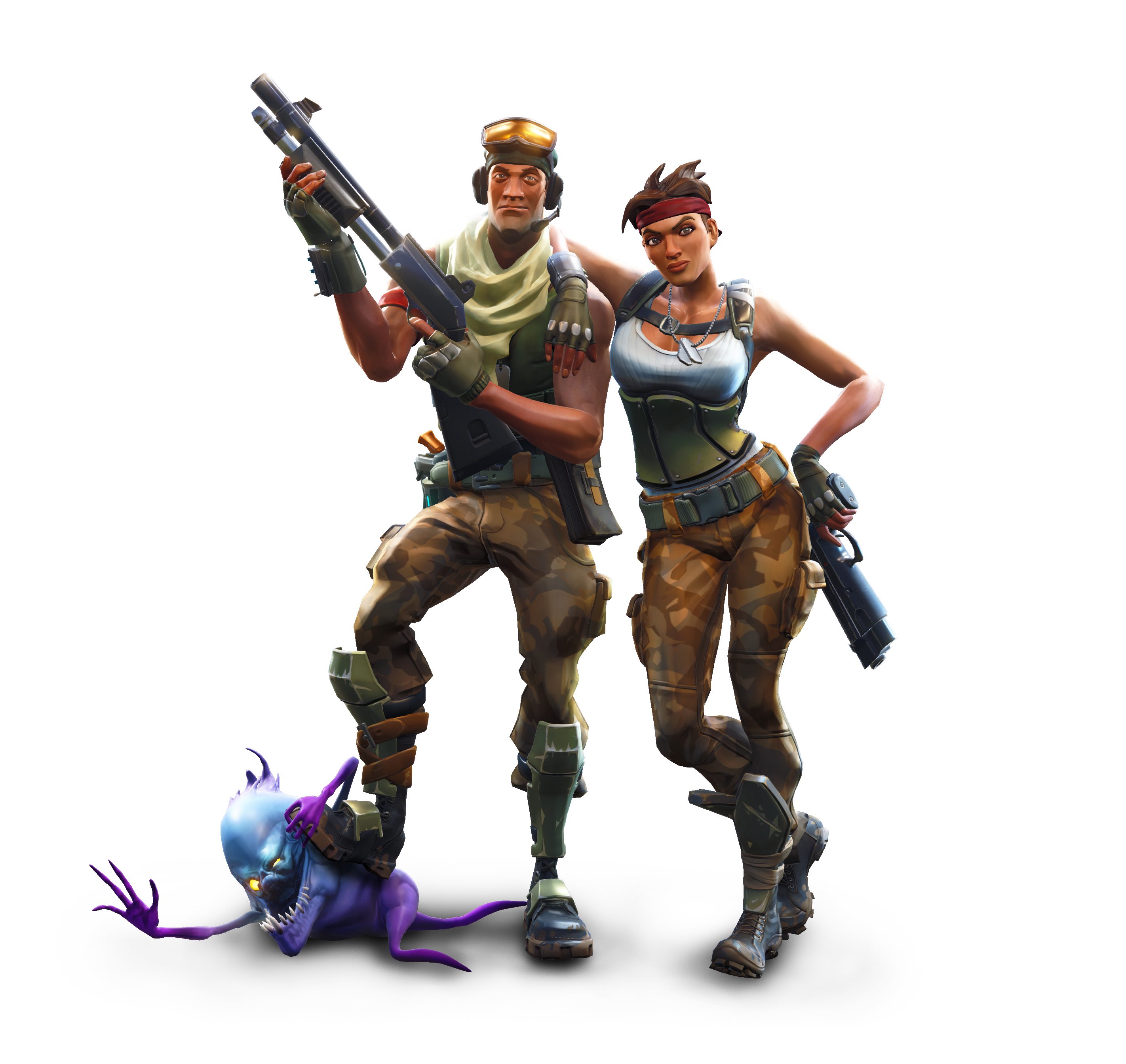 Fortnite Battle Royale Champs PNG Image