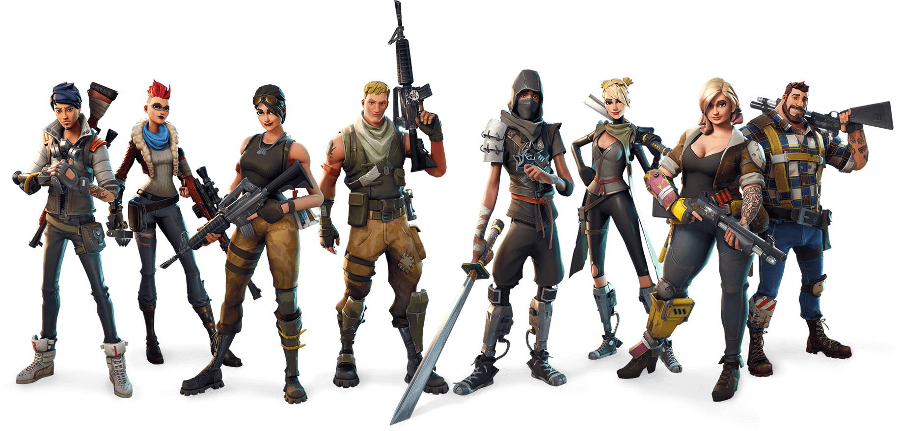 Fortnite Class Characters PNG Image - PurePNG