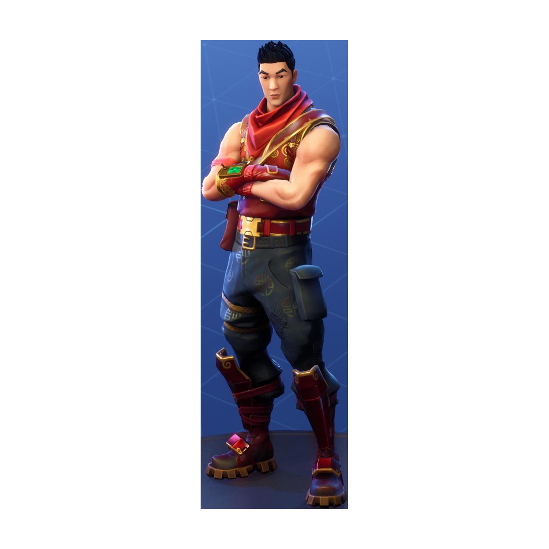 Fortnite Crimson Scout