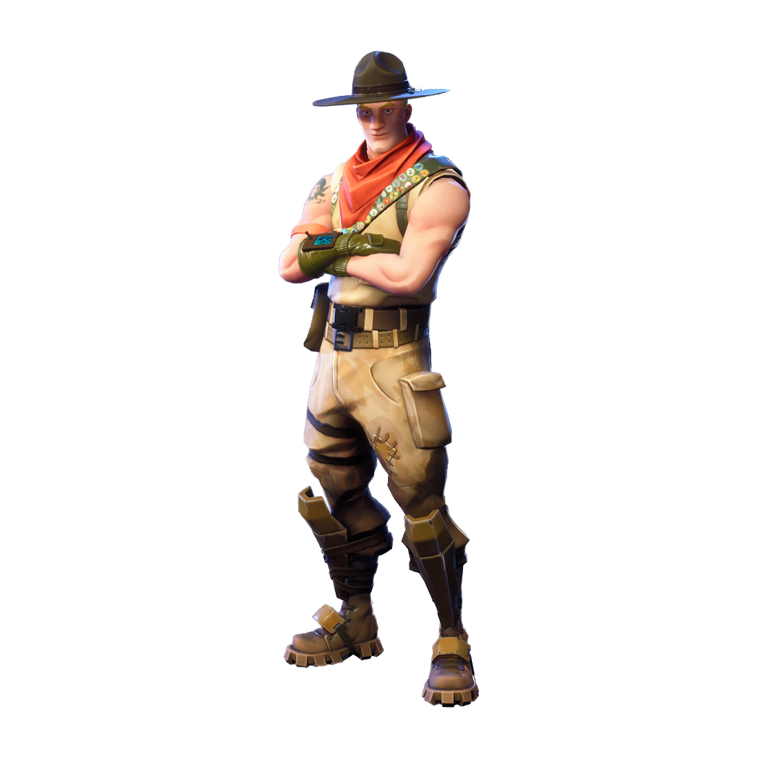 Fortnite Sash Sergeant