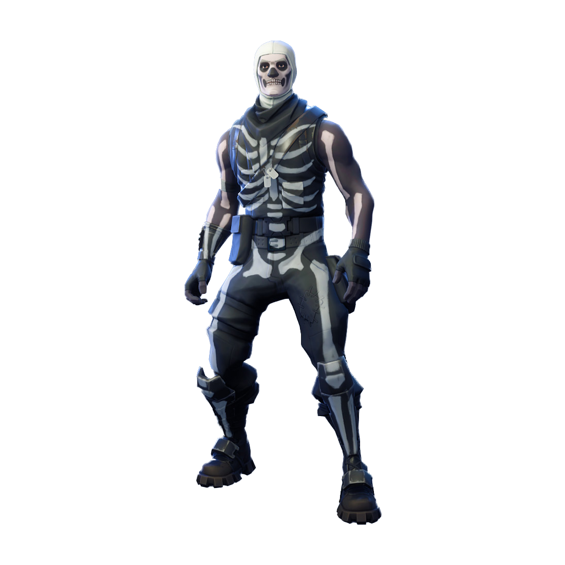 Fortnite Skull Trooper PNG Image
