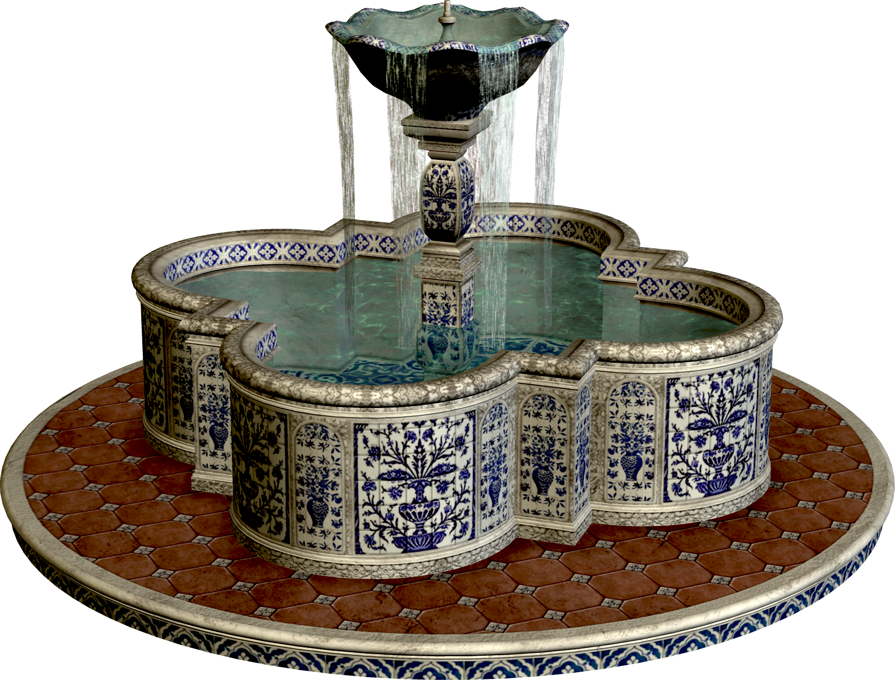 Fountain PNG Image