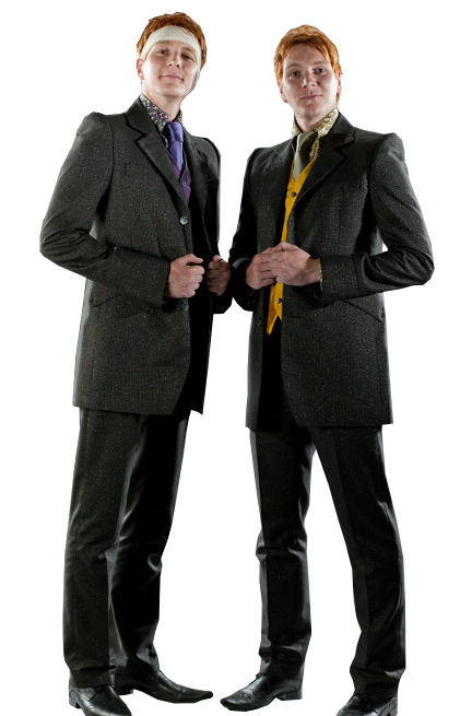 Fred and George Harry Potter PNG Image