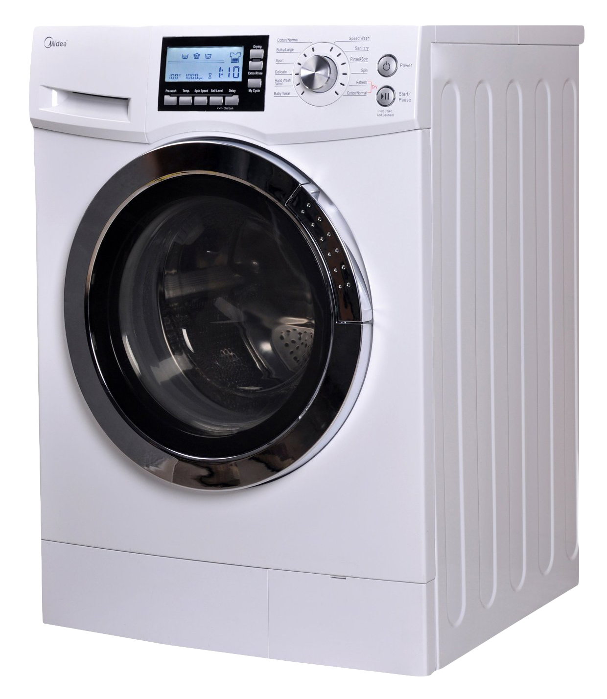 Front Loading Washing Machine PNG Image