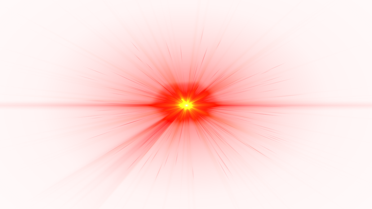Lens flare clear. Front red png image