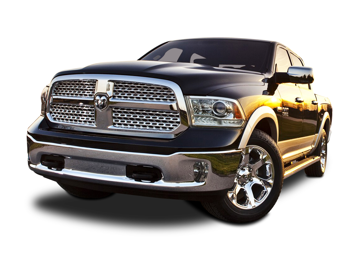 Front View of Dodge Ram 1500 Car PNG Image